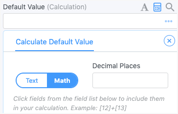 Field Calc Default Value in Woocommerce form