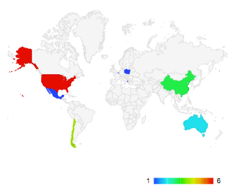 Graphs Geo Chart