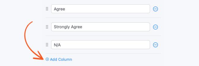 Likert Scale Add Column