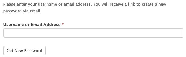 Register New Password