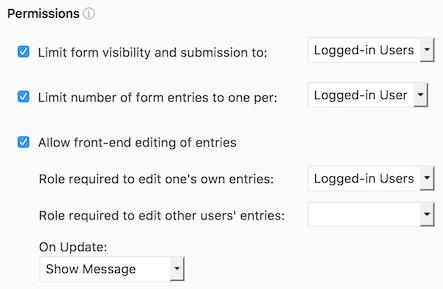 WordPress User Registration Forms - Formidable Forms