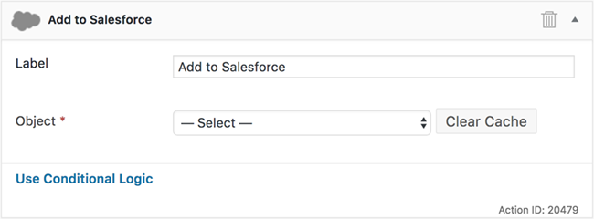 Salesforce forms setup