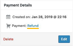 Stripe Refund Payment
