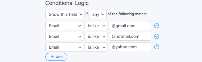 Submit Button Logic HTML conditional logic