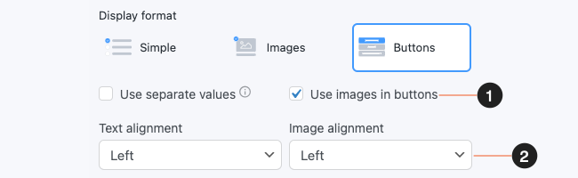 Survey Form Checkbox Radio with Buttons Images