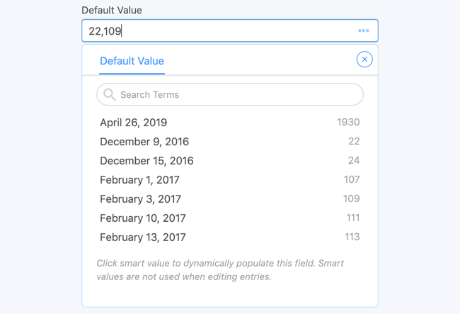 add a default value