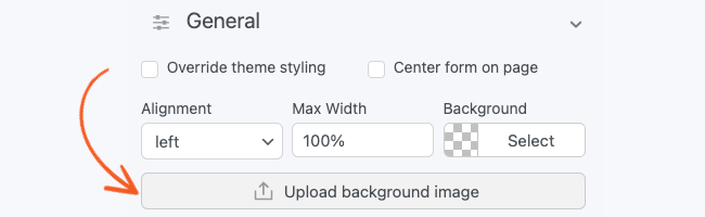 Visual Form Styler Add Background Image