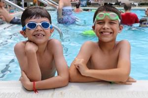 Boys at Pool