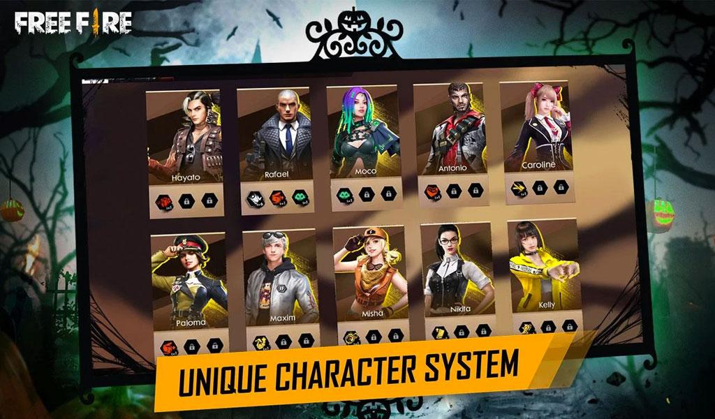 Free Fire Game Screenshot