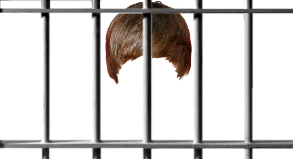 Transparent jail-bar overlay Transparent jailbar overlay, with wig ...
