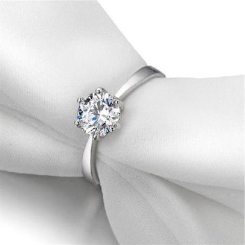 Claim a free Cubic Zirconia S925 Sterling Silver Ring