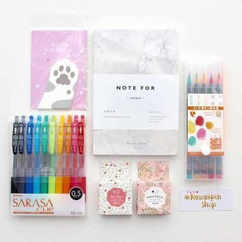Free Kawaii Pen Shop stationary bundle