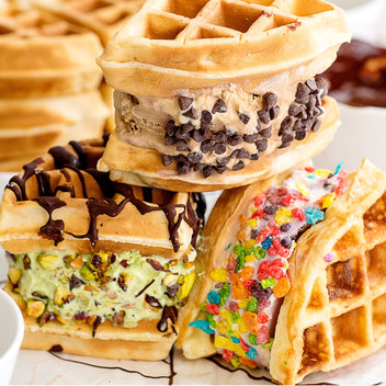 Win a Waffle Machine, Mackie's Ice Cream & Chocolate