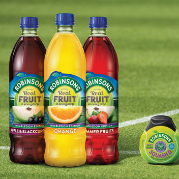 Free personalised drink bottles & Wimbledon Tickets
