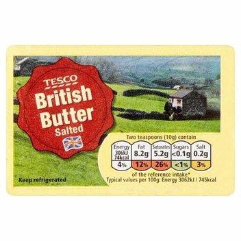 10,000 free blocks of Tesco butter