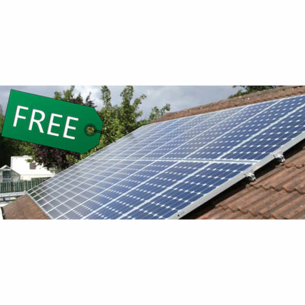 Free Solar Panels from A Shade Greener