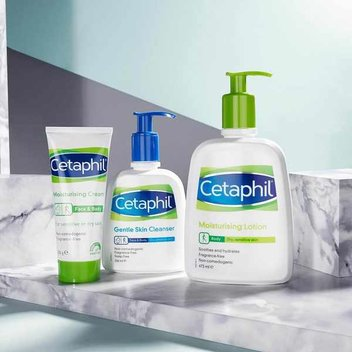 Stay hydrated with a free Cetaphil water bottle