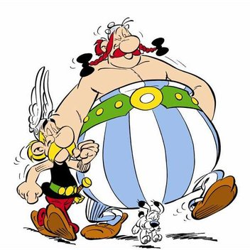 Free Digital collection of Asterix complete set
