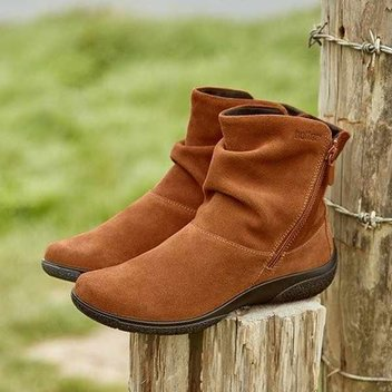 Win a pair of luxurious leather and suede boots from Hotter