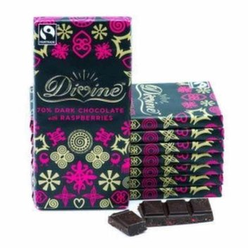 Free Fairtrade Fortnight with Divine Chocolate for your business