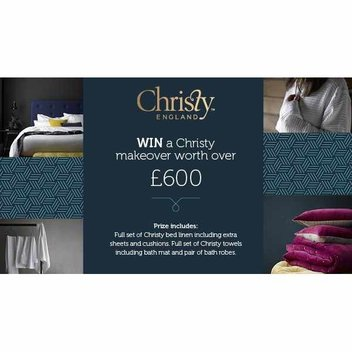 Win a Christy home makeover worth over £600