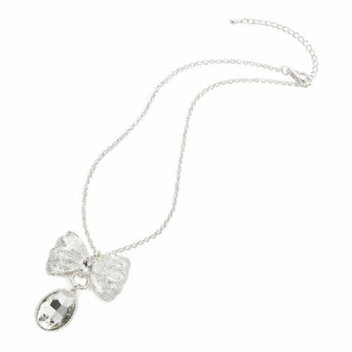 Win a silver bow necklace