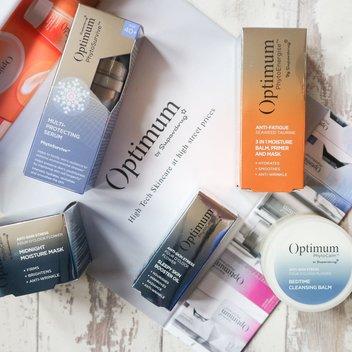 Secure a free Superdrug Optimum Skincare bundle
