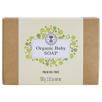 Pick up free Organic Baby Soap from Neal's Yard