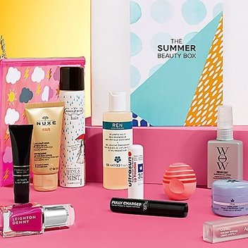 Claim a free M&S Summer Beauty Box