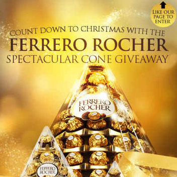 Free Ferrero Rocher Cone