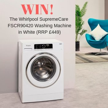 Celebrate National Quiet Day with a free Whirlpool washing machine