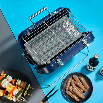 Get a Portable BBQ & camping goodies for Father's Day