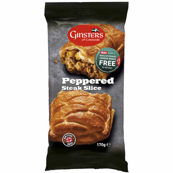 Free Ginsters slice from Sainsbury's
