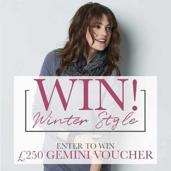 Win your Winter style with a £250 Gemini voucher