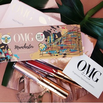 Get a free make-up collection from Oh My Glam