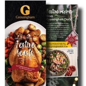 Free Festive Feasts Christmas Recipe Book