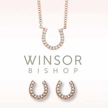 Win a Winsor Bishop rose gold & diamond jewellery set