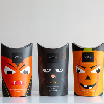 3 Hotel Chocolat Boo Halloween Chocolate boxes to be claimed
