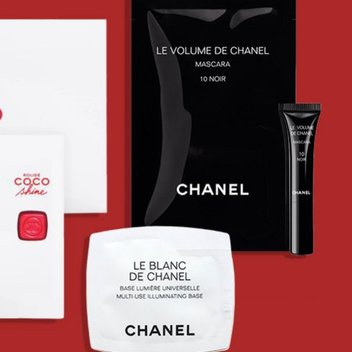 Pick up a complimentary CHANEL sample