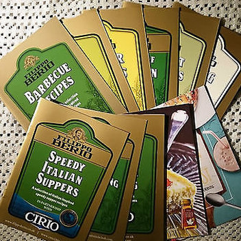 Take home free Filippo Berio recipe booklets
