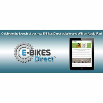 Win a brand new Apple iPad from E-Bikes Direct