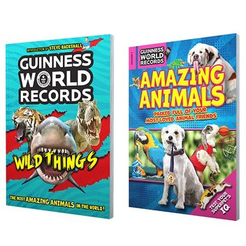 Grab free Guinness World Records books