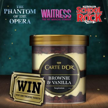 Redeem a free pair of West End Theatre Tickets