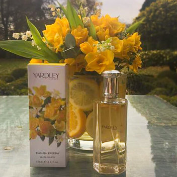 Win a Yardley London English Freesia Collection