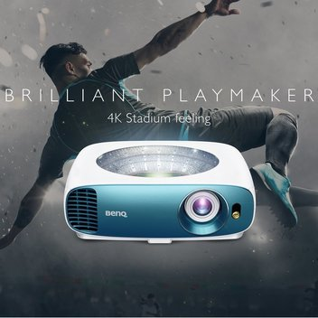 Win a BenQ 4K Sports & Home Entertainment Projector worth £1195