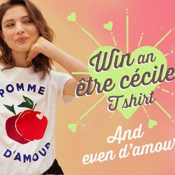 Claim a free Être Cécile T-shirt