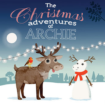 Free McDonalds Christmas Archie Book
