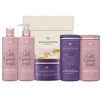Claim a free limited edition Champneys gift set