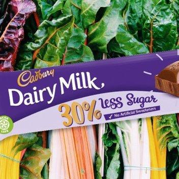 100 Cadbury Dairy Milk chocolate bars