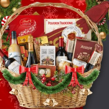 Free Christmas Hamper Baskets